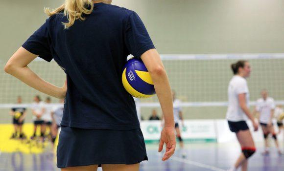 Ehemaligen Volleyballturnier