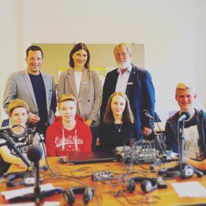 Radioteam der PCS berichtet aus dem Niedersächsischen Landtag
