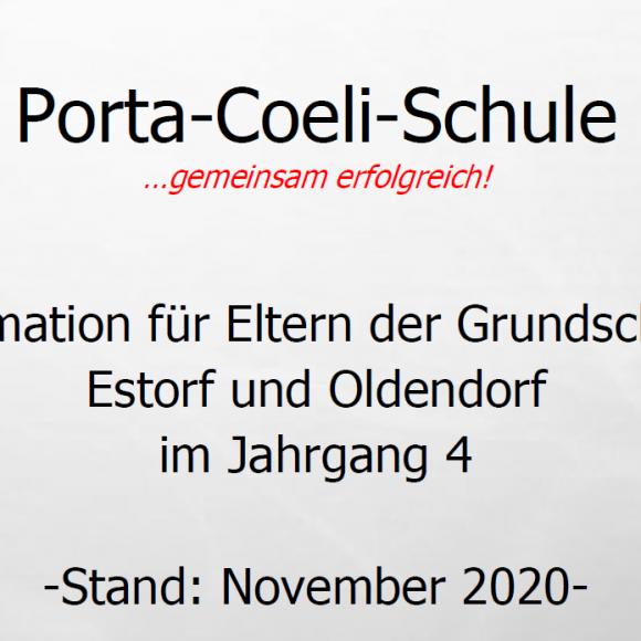 Elterninformation für Grundschüler aus Estorf und Oldendorf